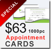 Dental Arts Press Appointment cards